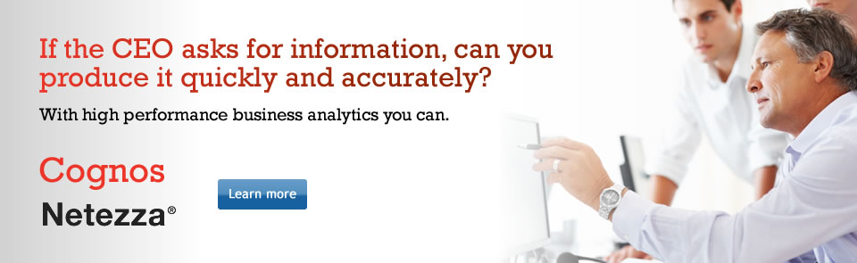 Learn more about Business Analytics